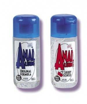 Anal Lube -Original or Cherry  6 oz