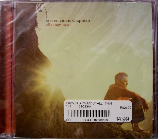Steven Curtis Chapman CD - All Things New