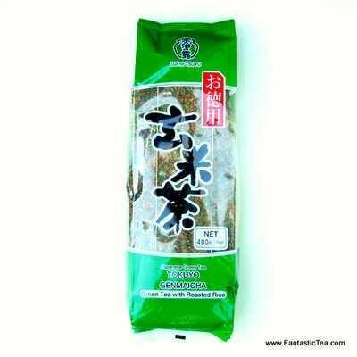 Green Tea with Roasted Rice GenmaiCha (Ujinotsuyu Tokuyo)