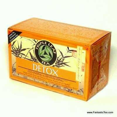 Detox Cleansing & Revitalizing Tea (Triple Leaf)