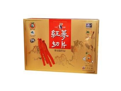Korean Ginseng Honey Sliced Slices 红���, 20g x 10 (Song Wha)