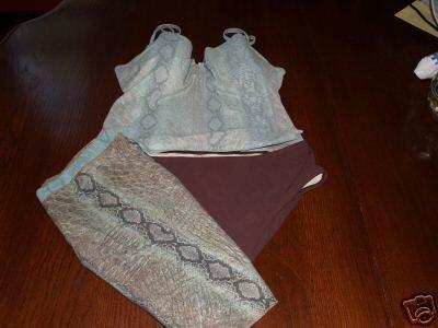 Victoria Secret tankini with wrap