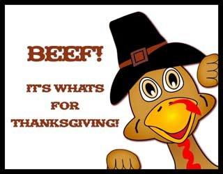 Beef- Thanksgiving