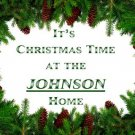 It's Christmas Time - personalized