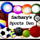 Child Sports Den - Personalized