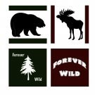 Forever Wild Coster Set