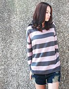 Basic Stripe Knit