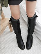 Simple Style Boots