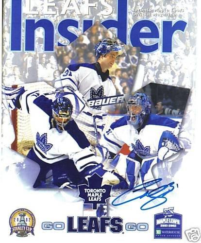 ~Curtis Joseph NHL Autographed Hockey 8x10 Photo Leafs~