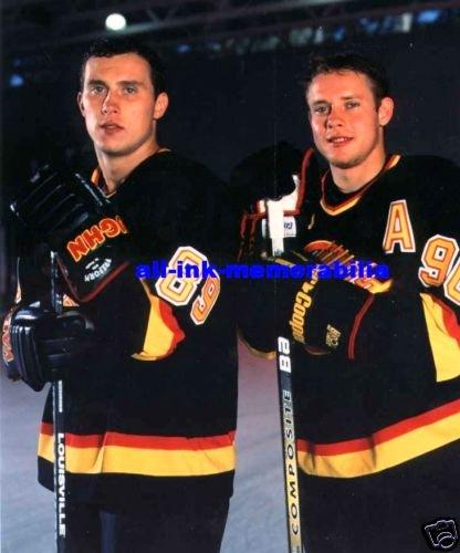 ~Alex Mogilny & Pavel Bure Colour 8x10 Photo Canucks~