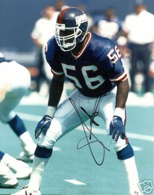 ~Lawrence Taylor Autographed NFL 8x10 Photo NY Giants~