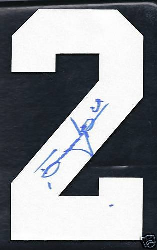 Tomas Vokoun Panthers Autographed Hockey Jersey Number