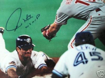 ~Paul Molitor Autographed WS MVP 11x14 Photo Blue Jays~