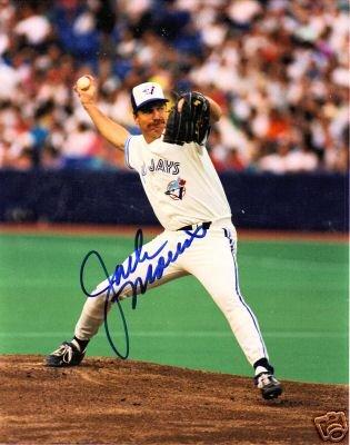 ~Jack Morris Autographed Baseball 8x10 Photo Blue Jays~