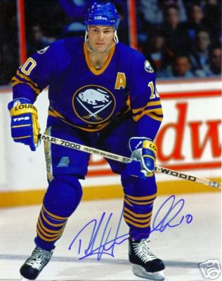 ~Dale Hawerchuk Autographed Hockey 8x10 Photo Sabres~