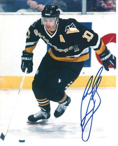 ~Ron Francis Penguins NHL HOF Autographed 8x10 Photo~