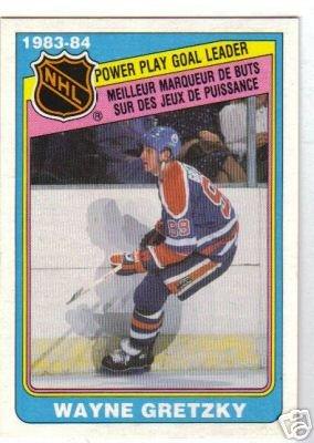 ~Wayne Gretzky HOF 1984/85 OPC LL Card Edmonton Oilers~