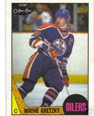 ~Wayne Gretzky HOF 1987/88 OPC Card Edmonton Oilers~