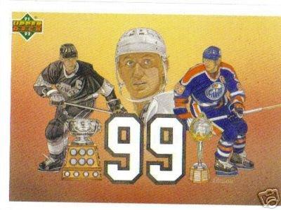 ~Wayne Gretzky 99 HOF 1991/92 Upper Deck Card NHL 99~