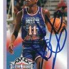 ~Isiah Thomas NBA Pistons Autographed Basketball Card~