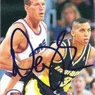 ~Dan Majerle NBA Phx Suns Autographed Basketball Card~