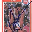 ~Bill Laimbeer NBA Pistons Autographed Basketball Card~