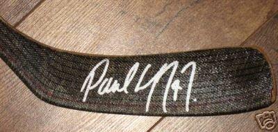 ~Paul Coffey Autographed NHL Game Model Hockey Stick~