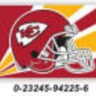 Kansas City Chiefs 36x60 Flag * other teamsavailable *