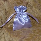 Satin Gift Jewelry Pouch - Lavender 3 x 4 inch