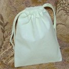 Velour Gift Jewelry Pouch - Ivory 3 x 4 inch