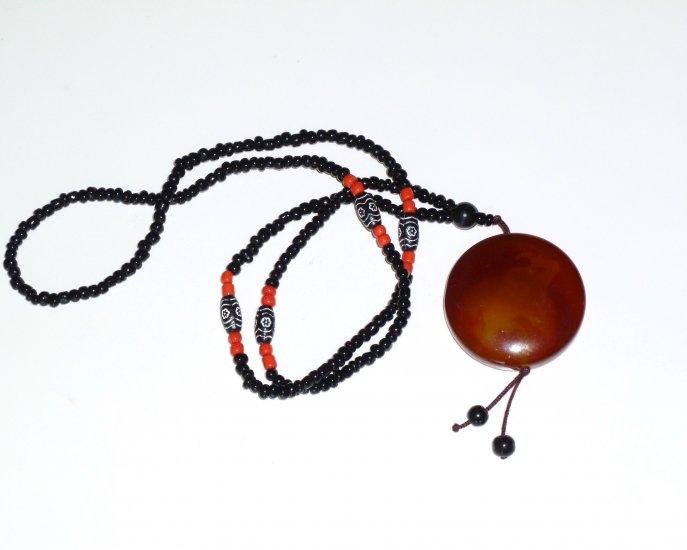 Bull Bohemian Style Gemstone Necklace