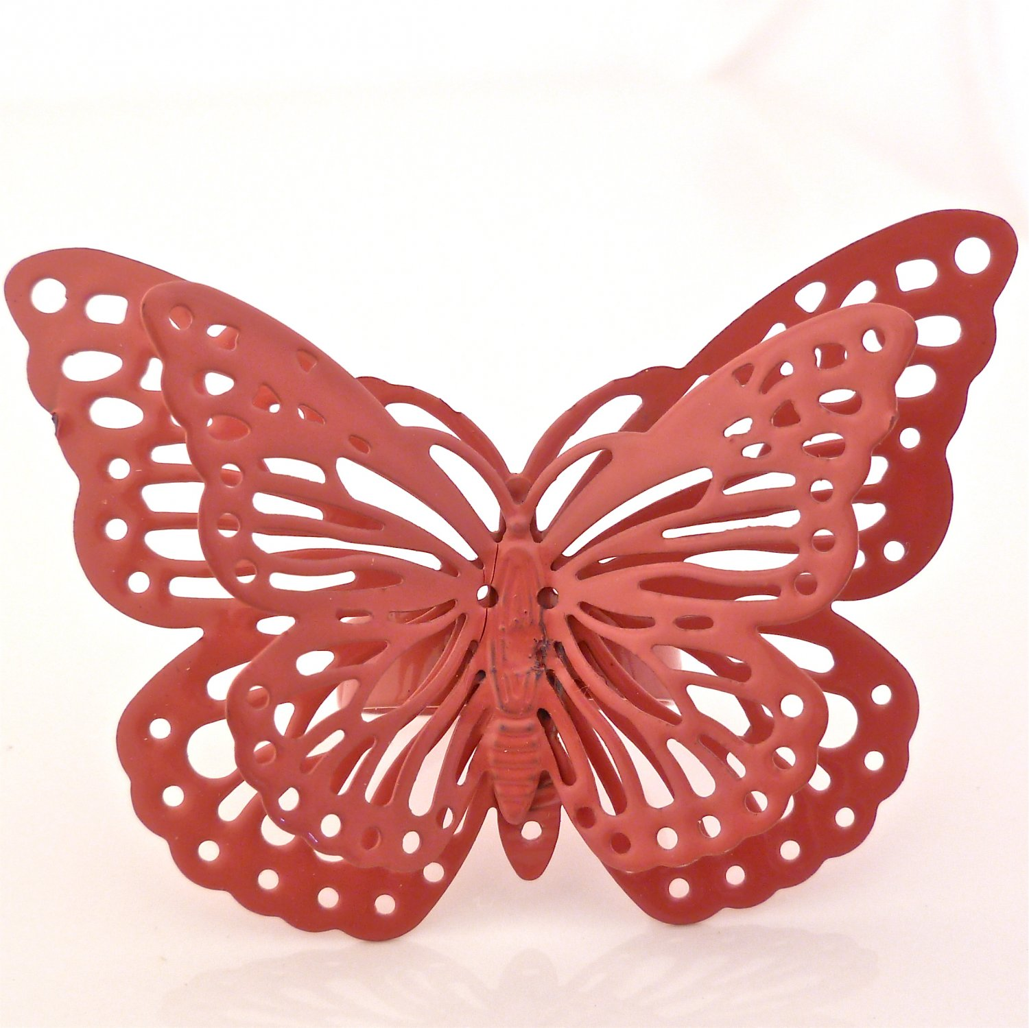 Whimsical Enchanted Butterfly Ring - Dusty Rose