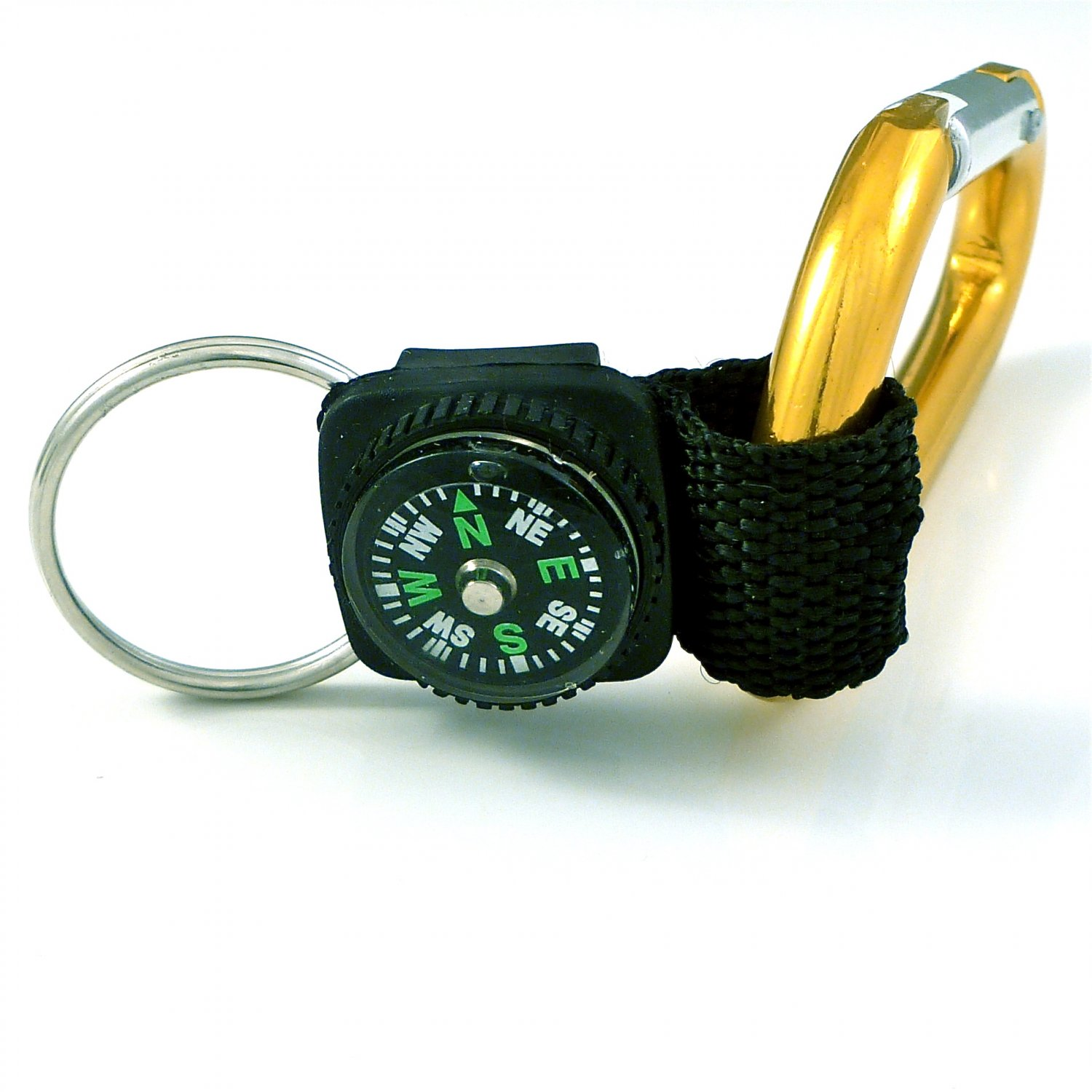 Carabiner Key Chain with Compass -04