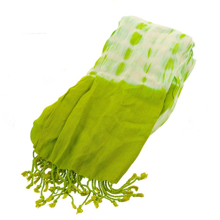 New York & Company Tie Dye Scarf -Green