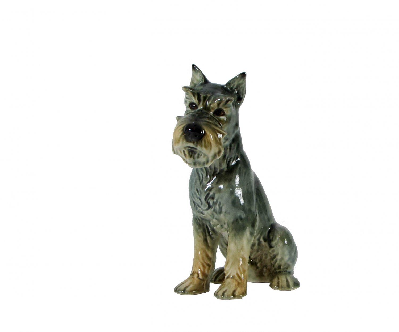 Goebel Schnauzer Dog Figurine Marked