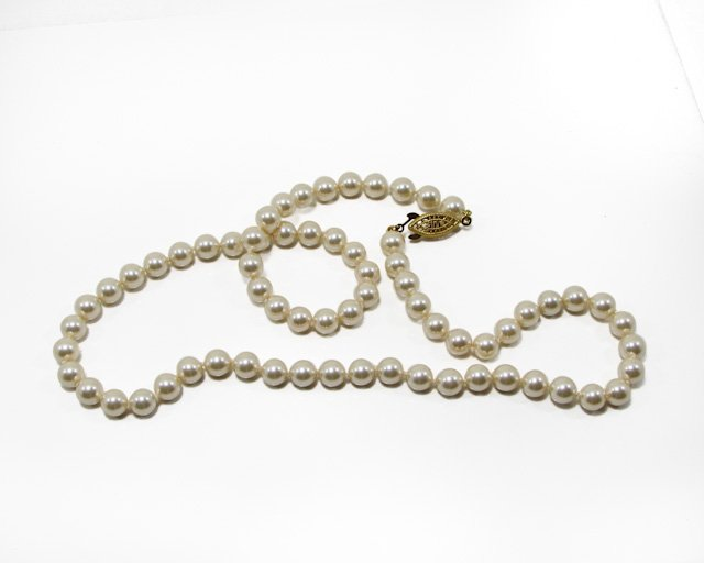 Majorica's Mikimi Princess Pearl Necklace, 19""