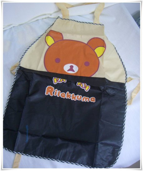 Black Brown Bear Waterproof Ventilated Apron