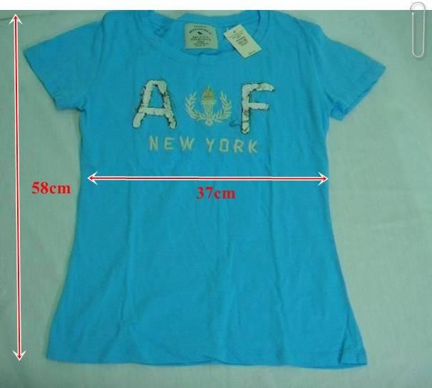 Sportive Light Blue Short-Sleeve T-Shirt One Size
