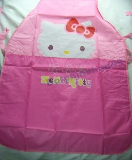 Pink Hello Kitty Waterproof Ventilated Apron