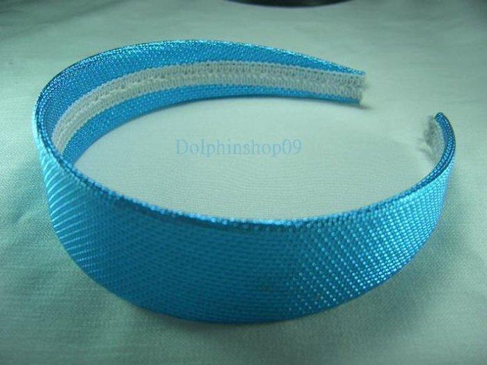 Shining Blue Hair Head Band
