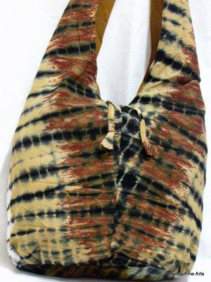 Bohemian Style Cotton Tie & Dye Bag
