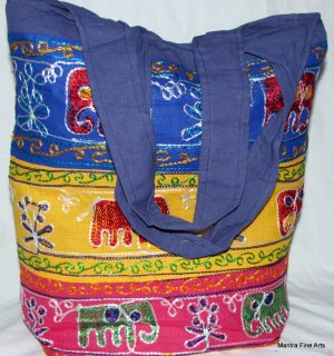 Bohemian Style Gypsy Boho Bag/Tote Bag with Embroidery