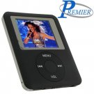 "Ultra portable digital MP3/MP4 player ""BLACK"" with built in FM radio and voice recorder."