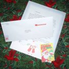Personalized Christmas Letter from Santa