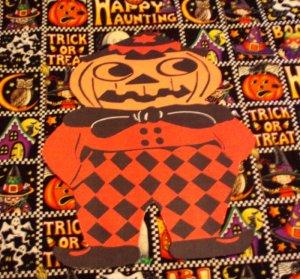 Halloween Pumpkin Scarecrow Die Cut Party Decorations
