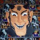 Halloween Devil Face  Die Cut Party Decorations