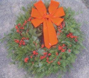 FRESH Balsom Scottch Pine Christmas Wreath
