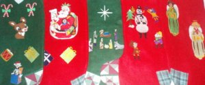 FROSTY SNOWMAN Christmas Stocking PERSONALIZED