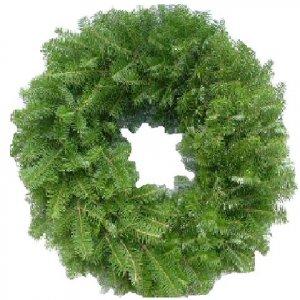 FRESH BALSOM JUNIPER PINE Christmas Wreath