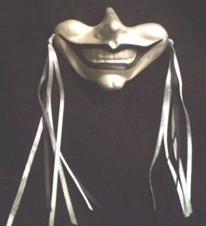 NEW GOTHIC SMILE WALL MASK JESTER CLOWN RENAISSANCE GOTH WALL DECOR